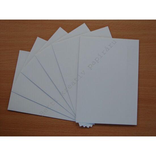 Fehér boríték C6