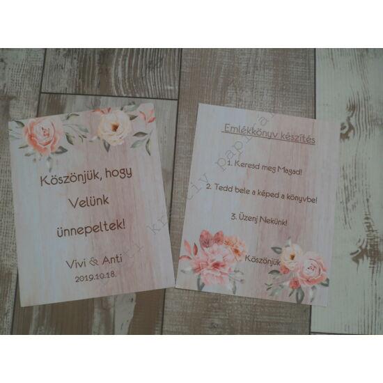 Esküvői felirat - 2. kategória